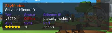 SkyModes - Serveur Minecraft